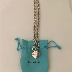 Authentic Tiffany's Heart Choker